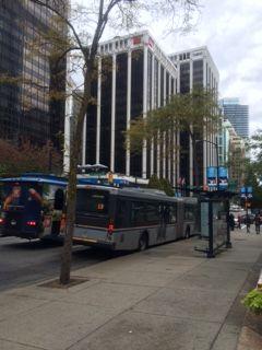 Bus Down Town