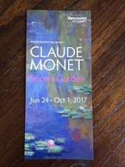 Monet Pamphlet