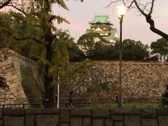 府庁前からOsaka Castle
