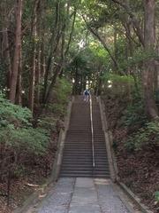 高宮祭場への階段