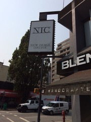New Image College Sign