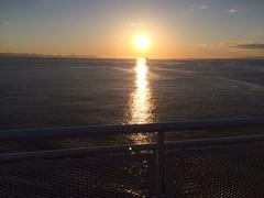 Sun Set from Deck