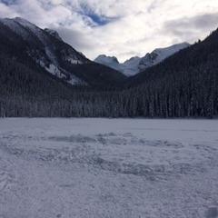 Joffre 1st lake