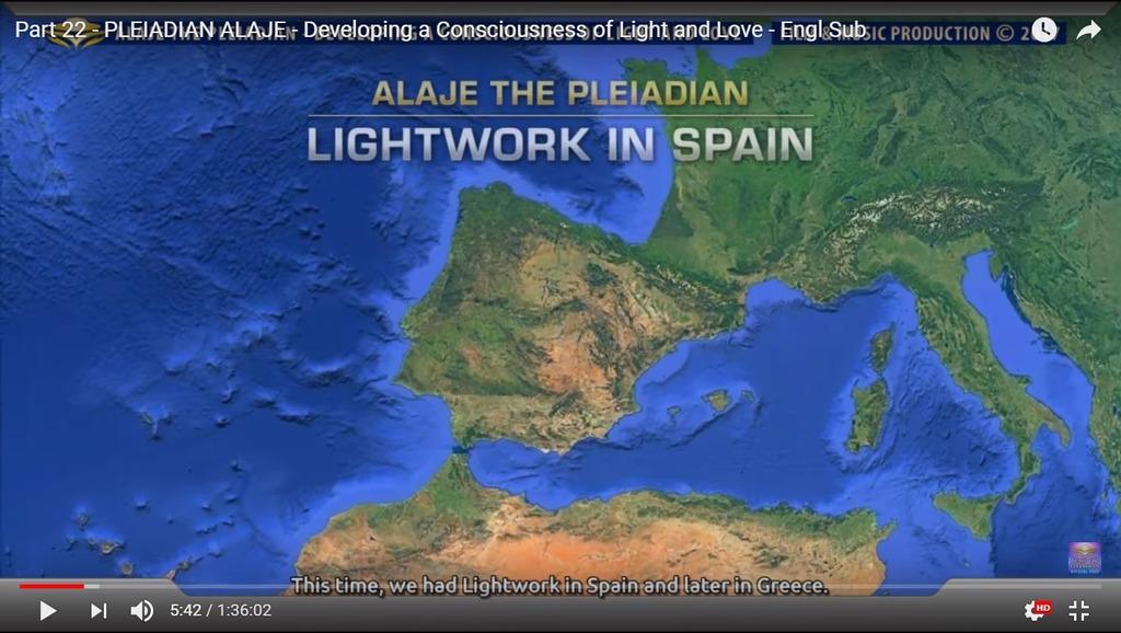 Alaje22 Lightwork in Spain