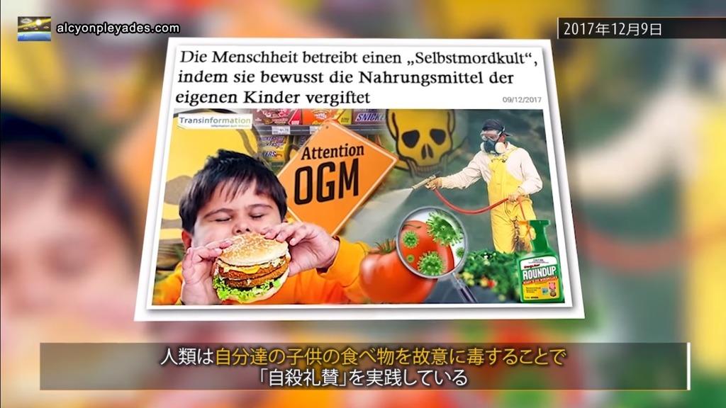 ハンバーガー モンサントラウンドアップAPN71