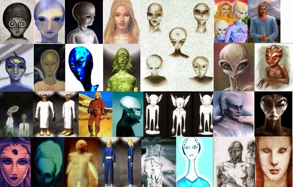 異星人24razas extraterrestres