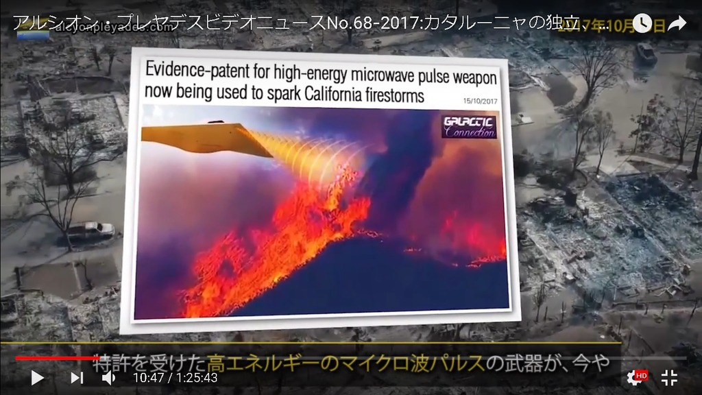 マイクロ波パルス武器