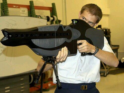 ライフル 指向性エネルギー兵器