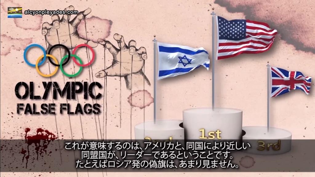 偽旗オリンピック金銀銅