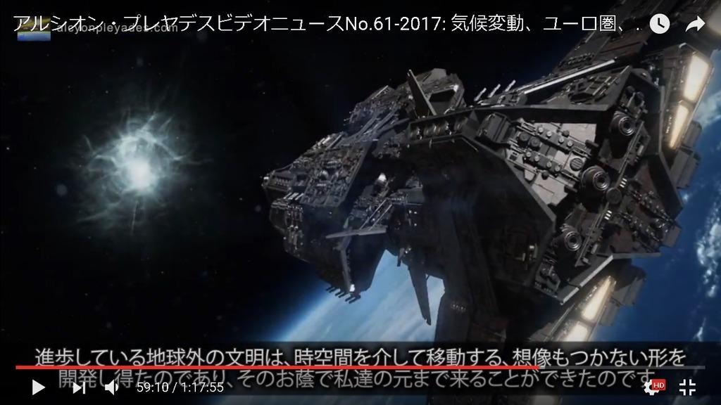 地球外文明 次元間移動APN61