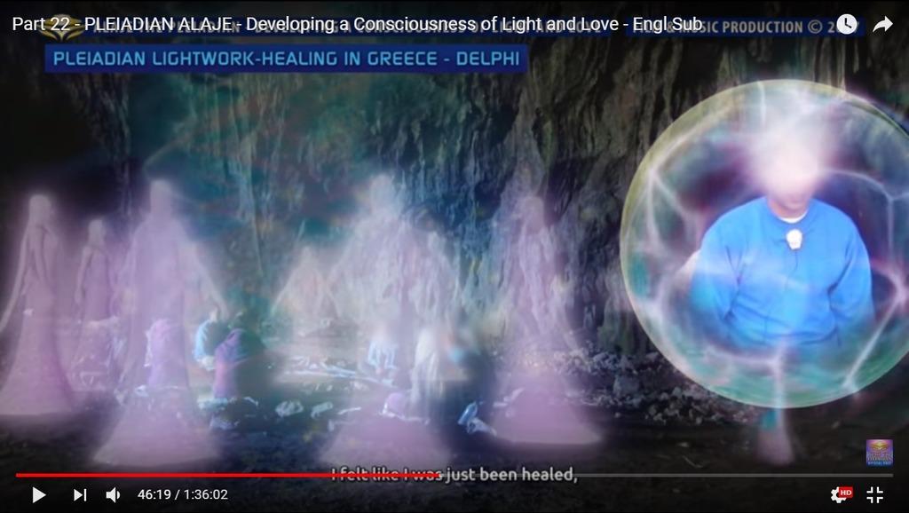 Alaje22 Lightwork in 洞窟