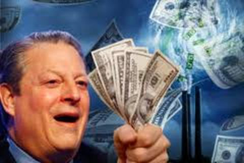アル・ゴア 詐欺 札束