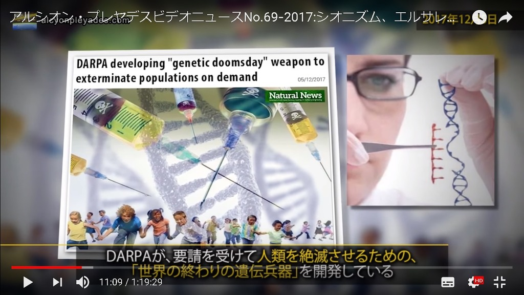 DARPA 遺伝兵器 APN69