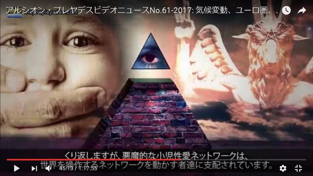APN61悪魔的小児性愛ネットワーク