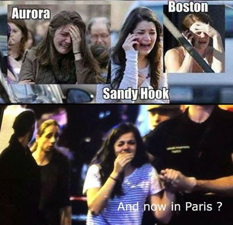 CRISIS ACTORS PARIS