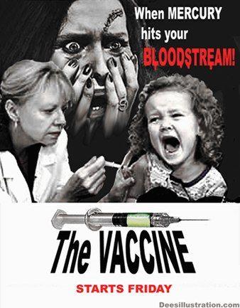 ワクチン 泣く白人少女