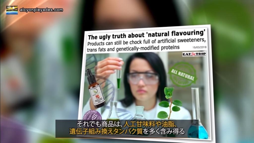 GMOタンパク 人工甘味料