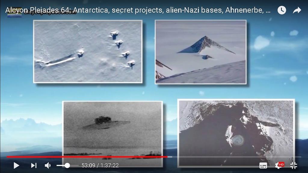 南極UFOピラミッド