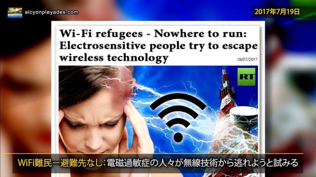WiFi電磁過敏症 APN66