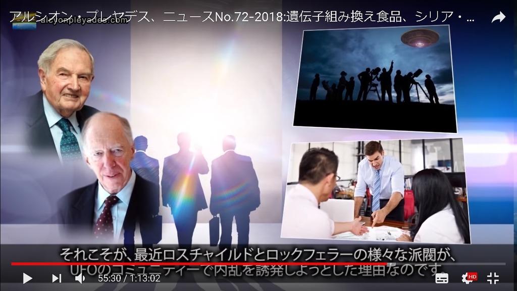 ロスチャイルド UFOコミュニティ内乱誘発