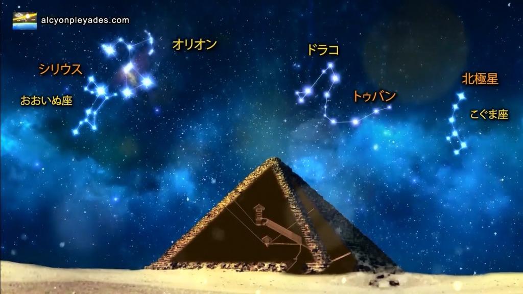 星座 ピラミッド