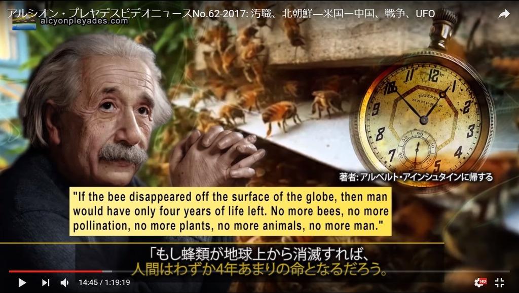蜜蜂消滅人類滅亡説