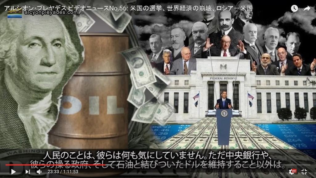 AP56中央銀行オイル ドル