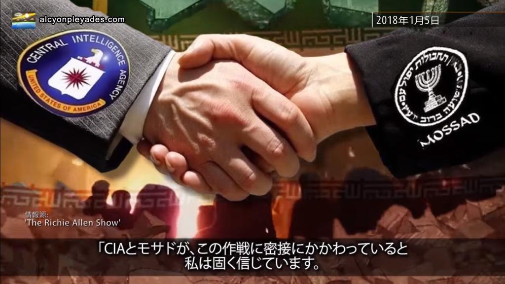 CIA MOsado 握手