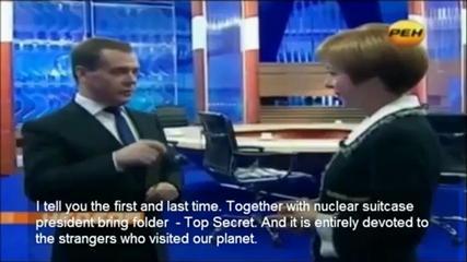 メドベージェフ異星人インタビュー