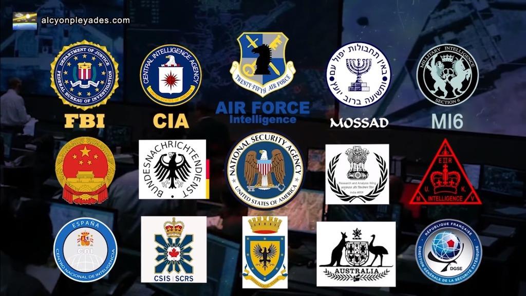 CIA FBI MI6 MOSADO