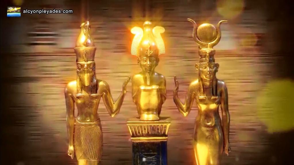 エジプト黄金像3