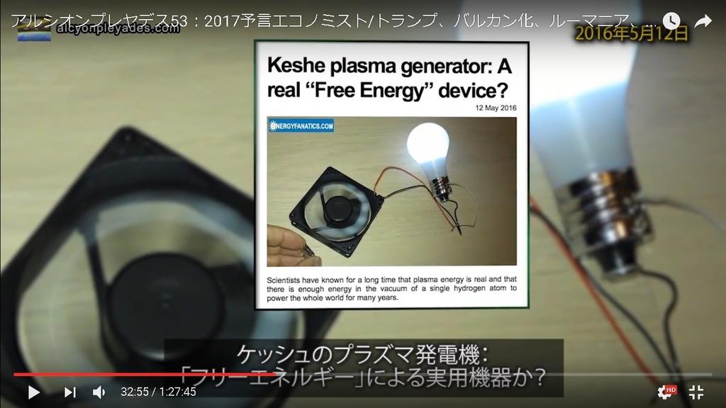 フリーエネルギーケッシュ財団電球