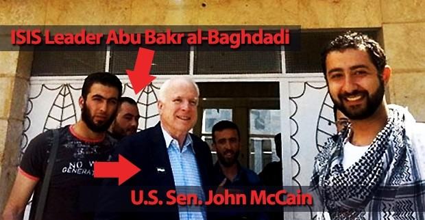 isis-john-mccain ISIS Leader Abu Bakr
