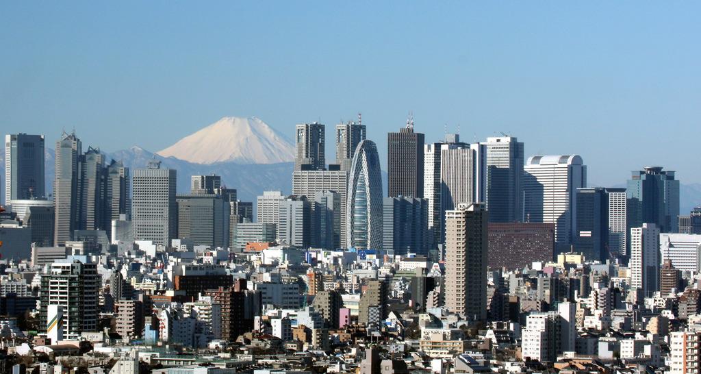 新宿Skyscrapers_of_Shinjuku_2009_January