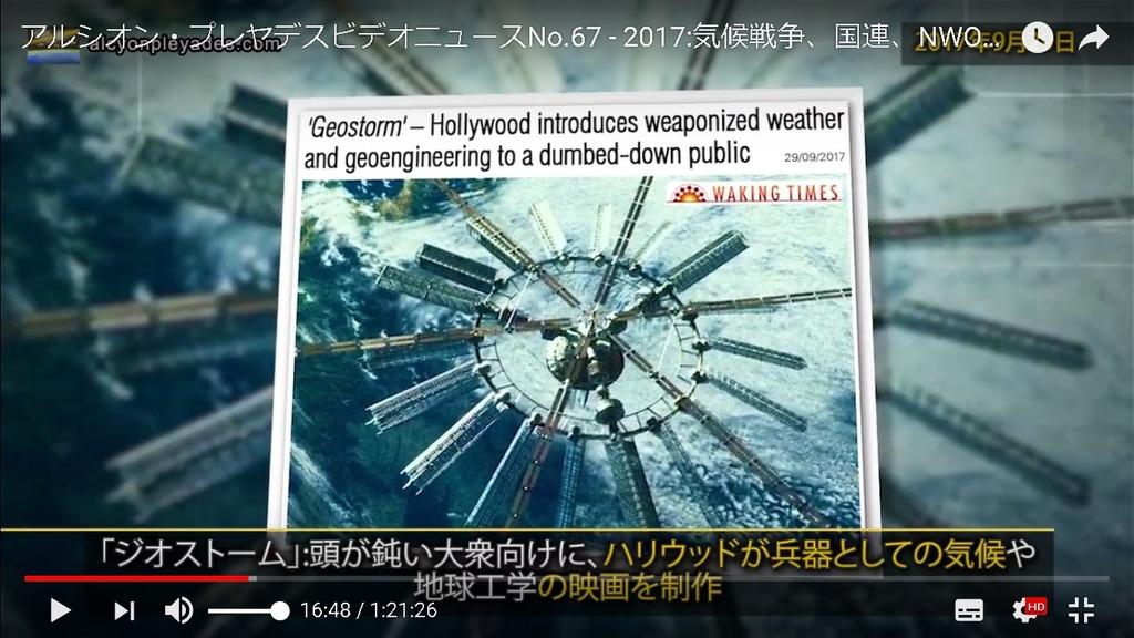 気象兵器ハリウッド