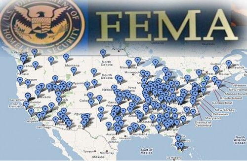 FEMA全米地図