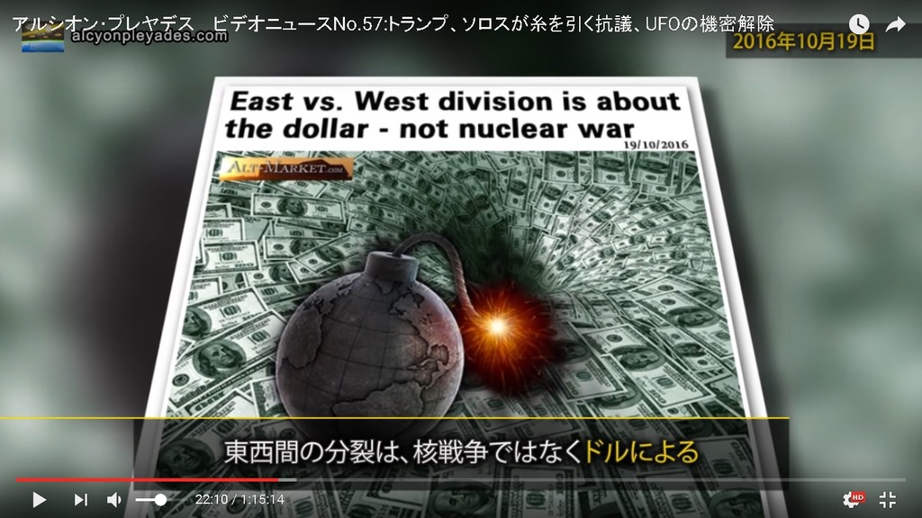 APN57東西分裂 ドル戦争