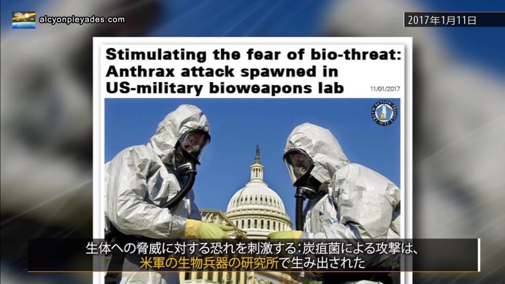 炭疽菌 米軍