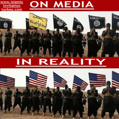 ISIS ON MEDIA IN REALITY USA