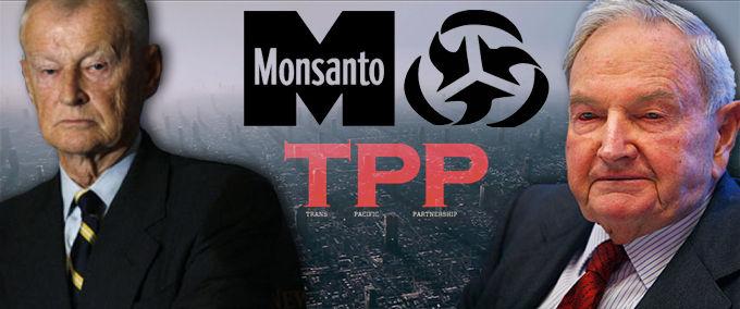 モンサント ロックフェラー TPP
