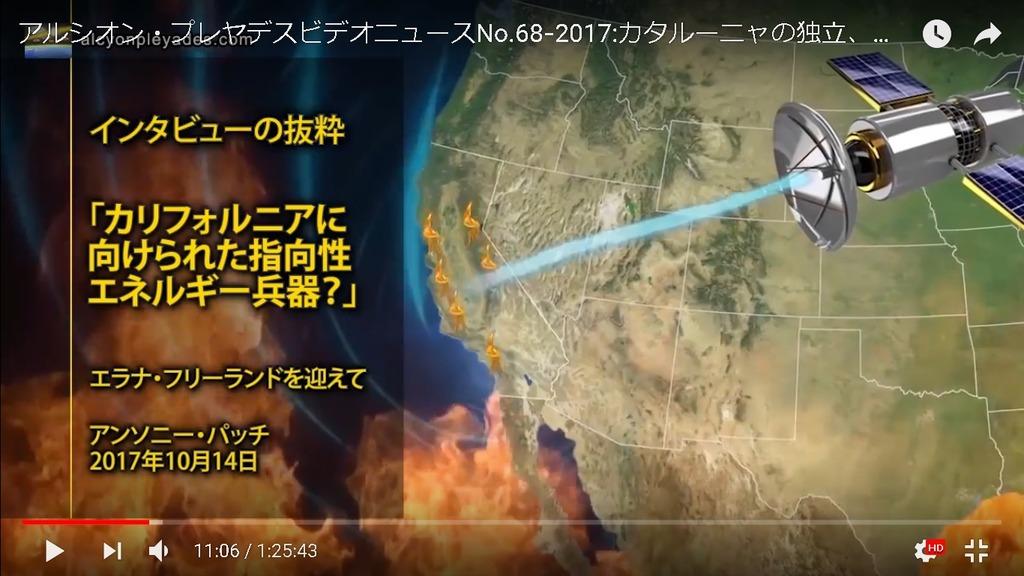 エネルギー兵器インタビュー衛星
