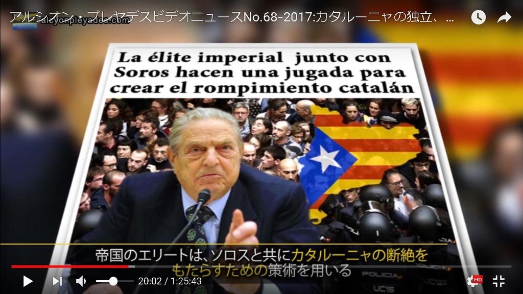カタルーニャ ソロス陰謀