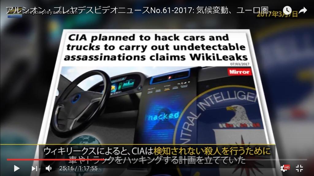 CIA車ハッキング殺人APN61