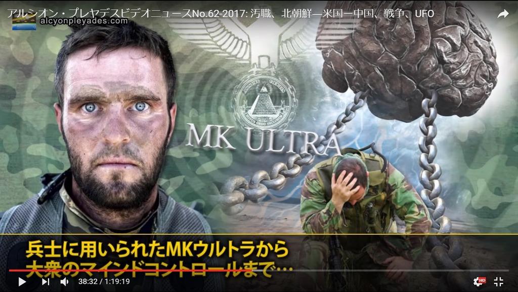 洗脳MK-ULTRA兵士