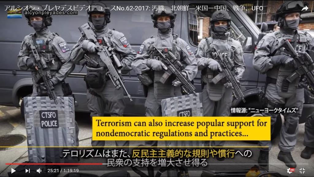 テロリズム反民主主義APN62