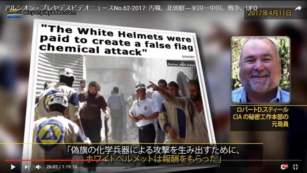 偽旗作戦サリンホワイトヘルメットAPN62