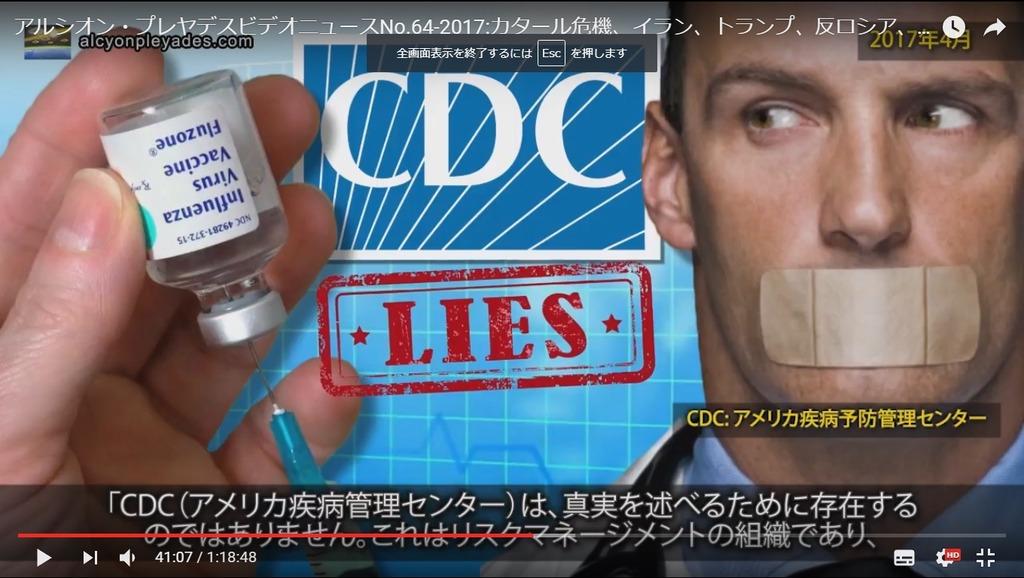 ワクチン詐欺CDC