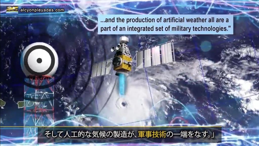 気象兵器 軍事技術