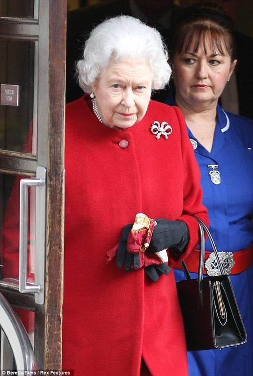 エリザベス女王 看護婦