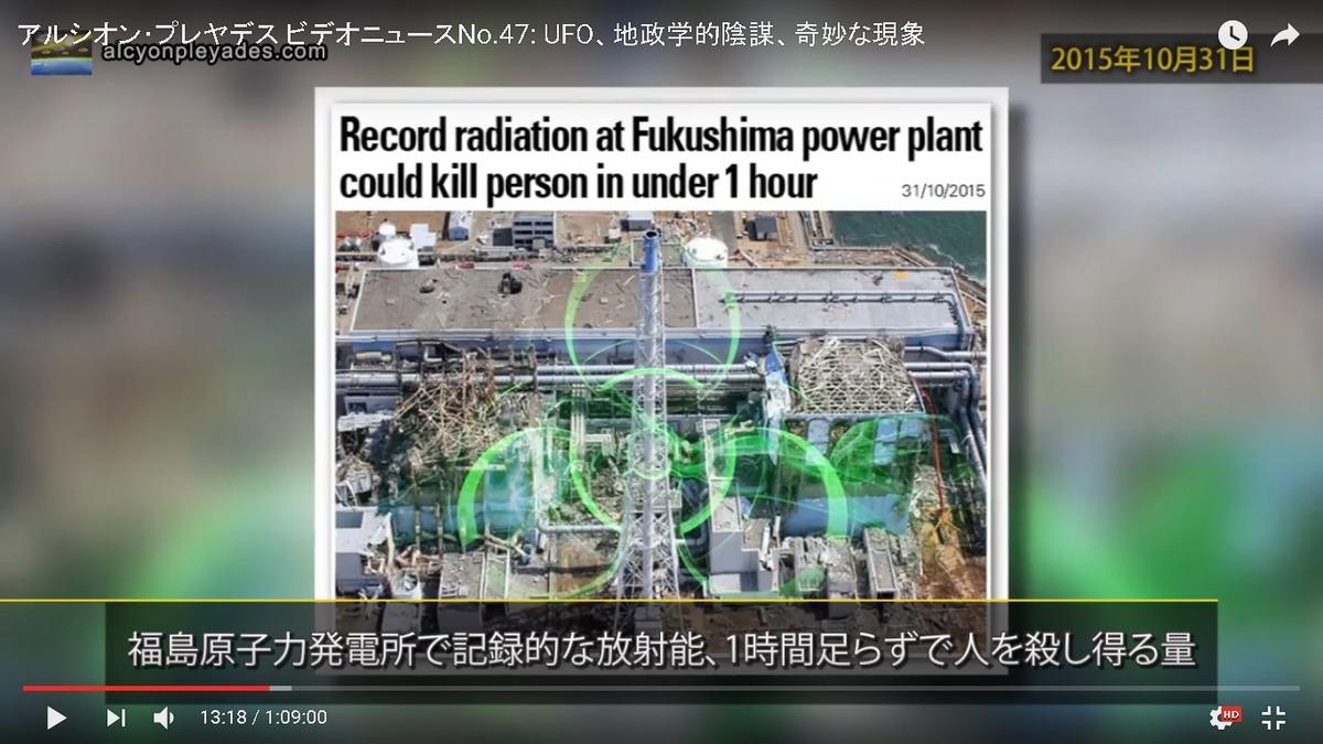 福島凄まじい放射能AP47